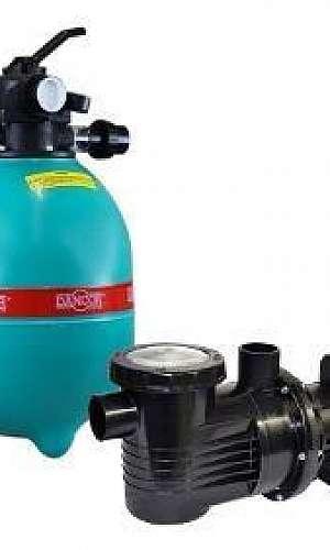 Bomba e filtro para piscina