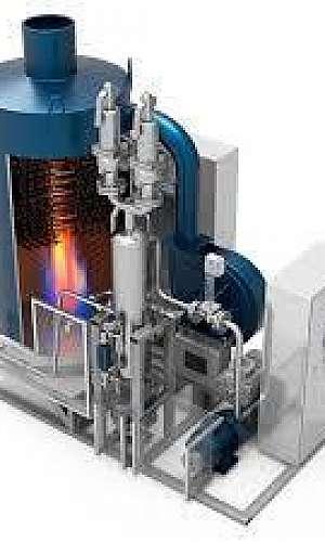 Gerador de vapor de gasolina