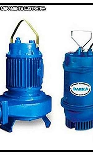 Instalação de bomba submersível