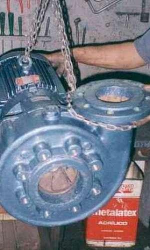 Manutenção de bomba