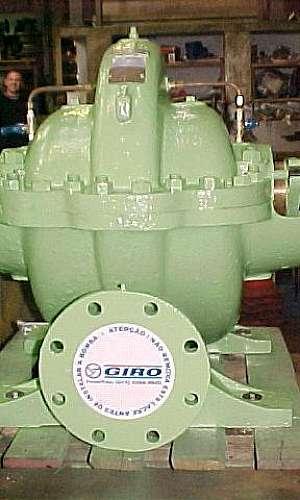 Manutenção de bombas rotativas
