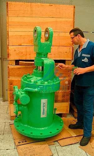 Manutenção de unidade hidráulica