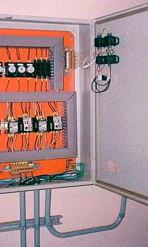 Painel elétrico de bomba