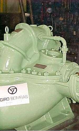 Serviços de manutenção de bombas